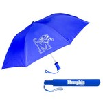 Storm Duds Adults' University of Memphis Automatic Folding Umbrella - view number 1