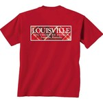 New World Graphics Women's University of Louisville Team Madras T-shirt - view number 1