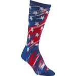 BCG Women's Americana Abstract Flag Crew Socks - view number 3