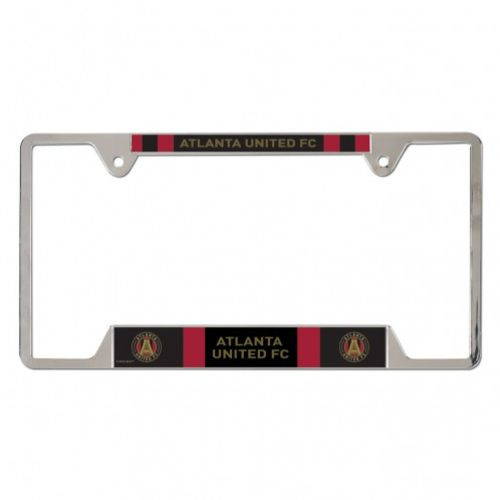 WinCraft Atlanta United FC Metal License Plate Frame - view number 1