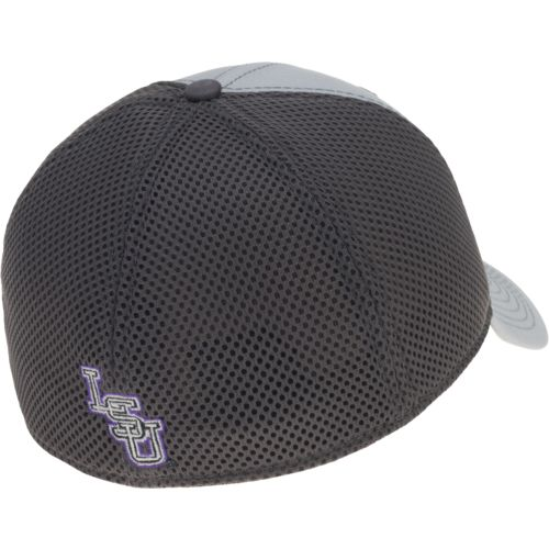 New Era Men's Louisiana State University Grayed Out Neo 39THIRTY Cap - view number 3