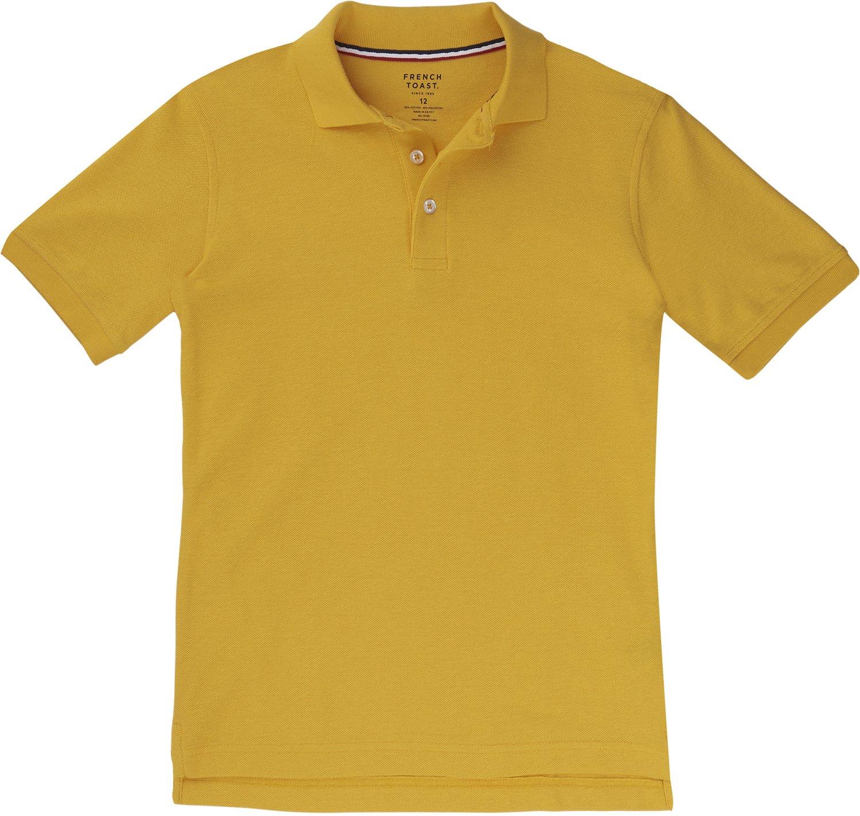 French Toast Boys\u0027 Short Sleeve Pique Polo Shirt