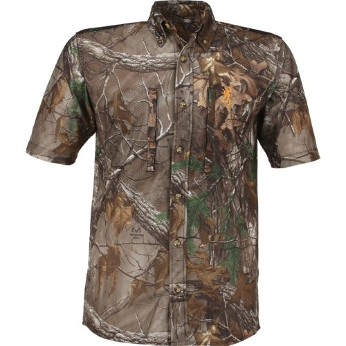 Browning Men's Wasatch Mesh-Lite Realtree Xtra Short Sleeve Shirt