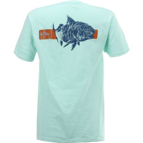 Guy Harvey Men's Ginger Logo T-shirt - view number 2