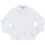 French Toast Girls' Plus Size Long Sleeve Oxford Blouse - view number 1