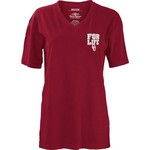 Three Squared Juniors' University of Oklahoma Team For Life Short Sleeve V-neck T-shirt - view number 2