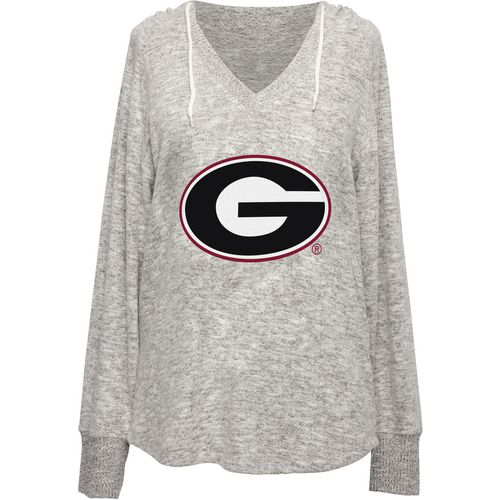 Chicka-d Women's University of Georgia V-neck Hoodie
