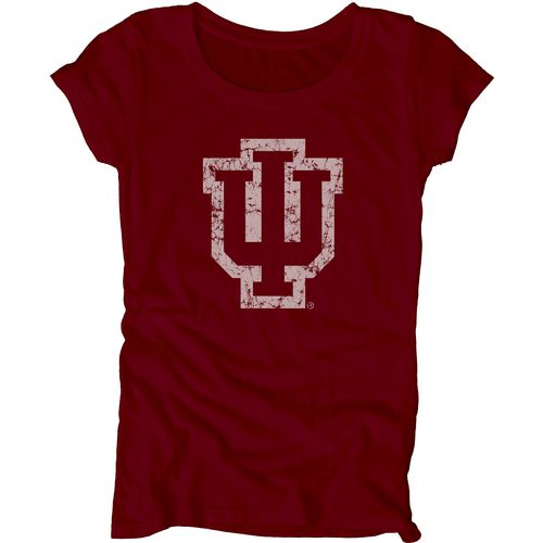 Blue 84 Juniors' Indiana University Mascot Soft T-shirt
