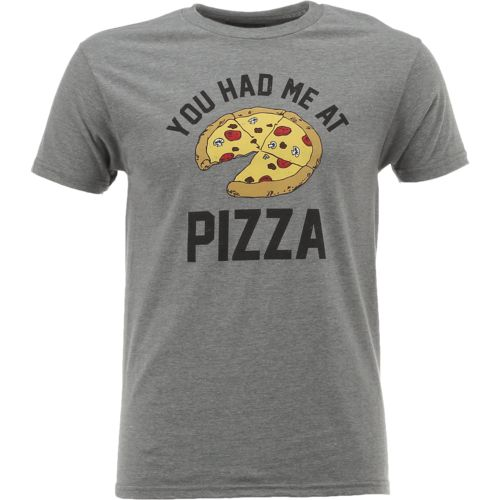 Big Bend Outfitters Men's You Had Me at Pizza Short Sleeve T-shirt - view number 1