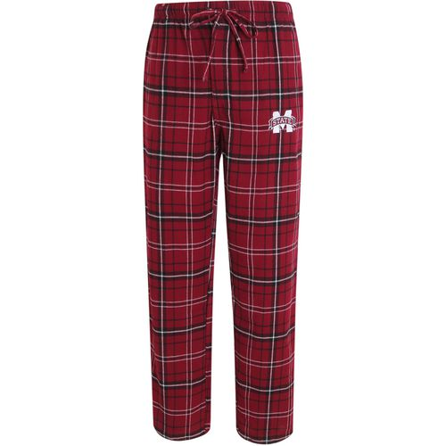 Concepts Sport Men's Mississippi State University Ultimate Flannel Pant