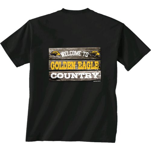 New World Graphics Men's University of Southern Mississippi Welcome Sign T-shirt
