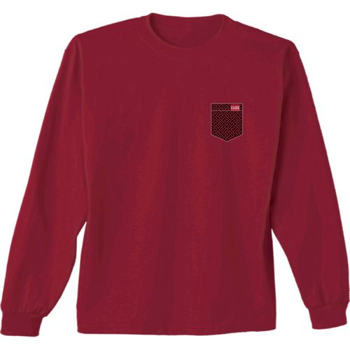 New World Graphics Women's University of Arkansas Faux Pocket Long Sleeve T-shirt - view number 2