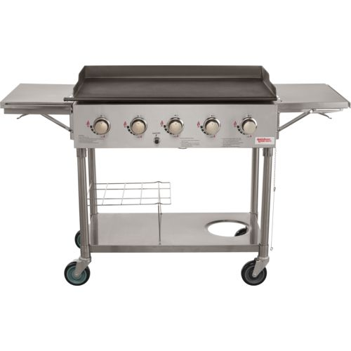Display product reviews for Outdoor Gourmet 5-Burner SS Griddle