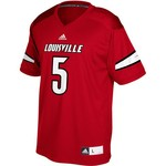 adidas Men's University of Louisville Replica Football Jersey - view number 2
