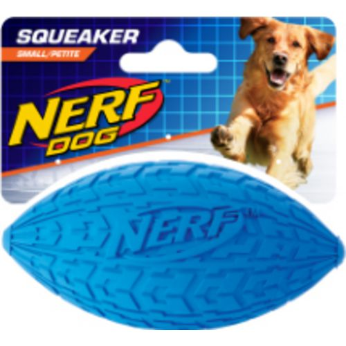 Display product reviews for NERF Dog 6 in Tire Squeak Football
