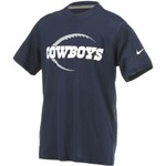 Nike Boys' Dallas Cowboys Legend Icon T-shirt - view number 3