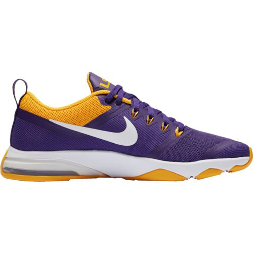 Nike Women's Louisiana State University Zoom Fitness Training Shoes - view number 3
