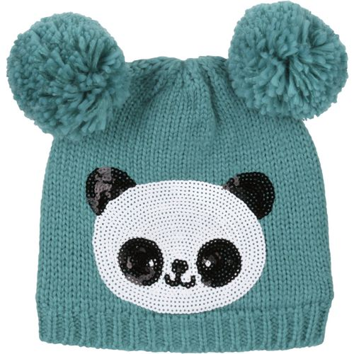 Magellan Outdoors Girls' Panda Critter Hat