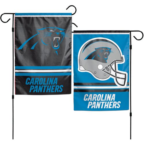 WinCraft Carolina Panthers 2-Sided Garden Flag