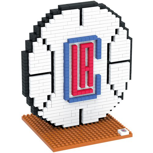Cheap Forever Collectibles Los Angeles Clippers BRXLZ 3-D Logo Puzzle