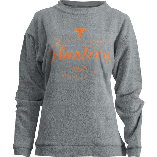 Three Squared Juniors' University of Tennessee Finley Comfy Terry Pullover
