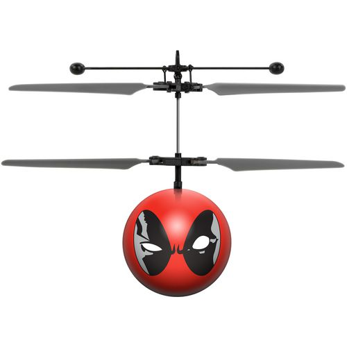 World Tech Toys Marvel X-Men Deadpool IR UFO Ball Helicopter - view number 1