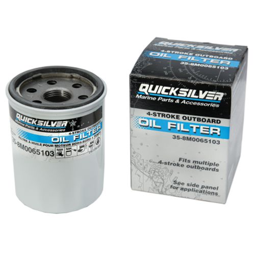 Quicksilver 4-Stroke Oil Filter - view number 1