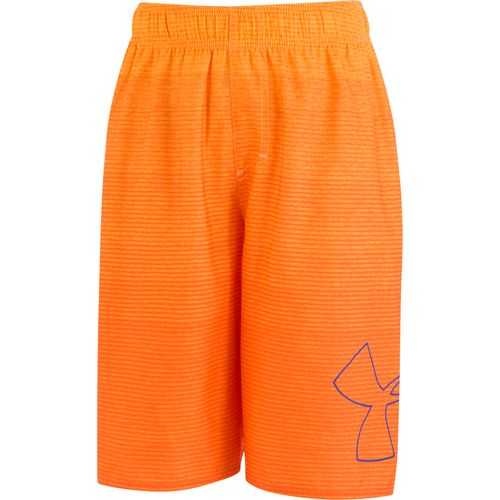 Under Armour Boys' Fader Icon Volley Swim Shorts