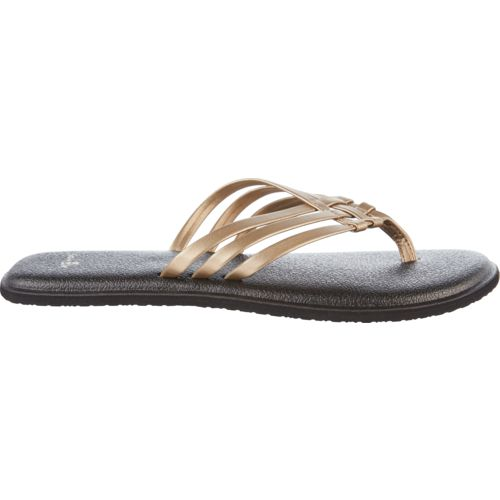 Yoga Salty Metallic Flip Flops WN7hSIznxN