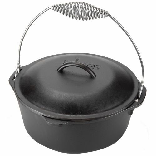 Display product reviews for Lodge 5 qt. Traditional Dutch Oven with Wire Bail