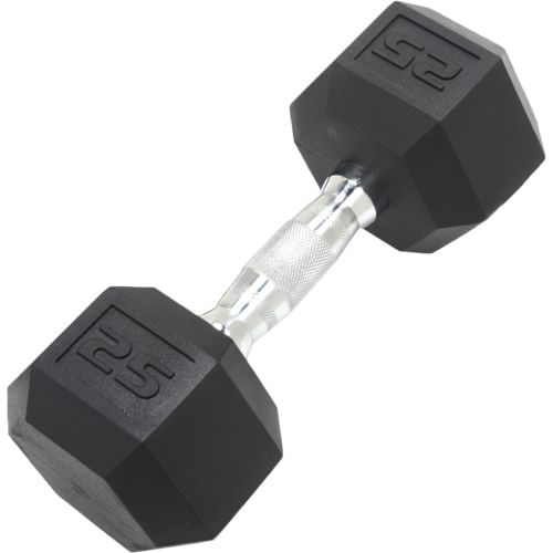 CAP Barbell 25 lb. Coated Hex Dumbbell