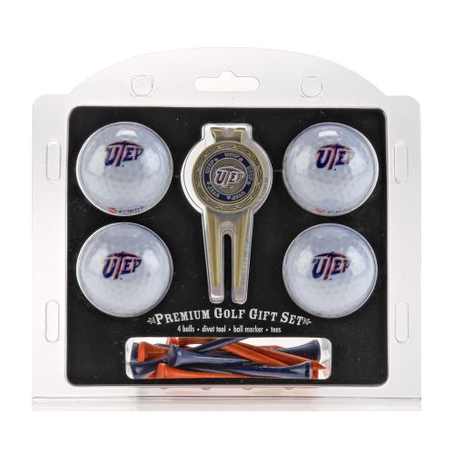 Team Golf 4-Ball Gift Set with Tees
