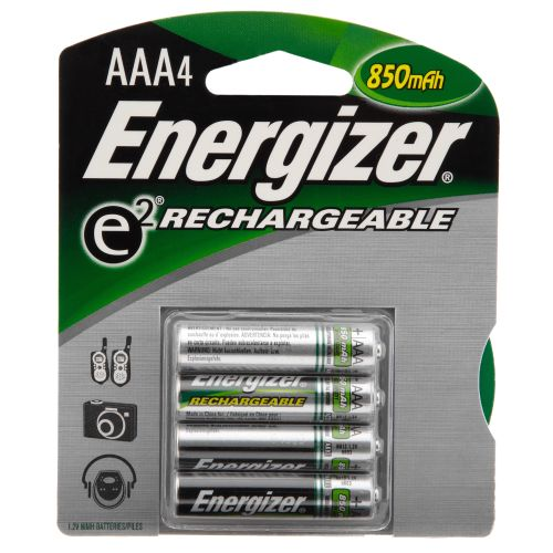 Energizer® Rechargeable AAA Batteries 4-Pack