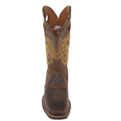 Justin Men's Stampede Punchy Western Boots - view number 3