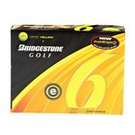 Bridgestone Golf E6 Yellow Straight Distance Golf Balls 12-Pack