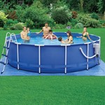 "Summer Escapes Splashin' Fun™ 14' x 42"" Round Pool"