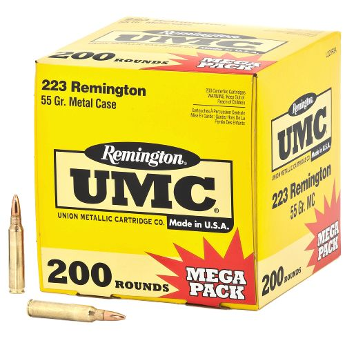 Remington UMC .223 Remington 55-Grain Centerfire Rifle Ammunition