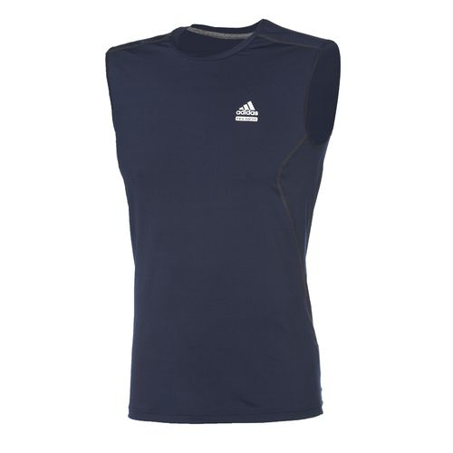 adidas Men's TECHFIT™ Fitted Sleeveless Shirt