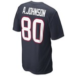 Nike Men's Houston Texans Andre Johnson Name and Number T-shirt