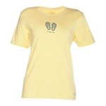 Life is good® Women's Simplify FlipFlops Crusher T-shirt