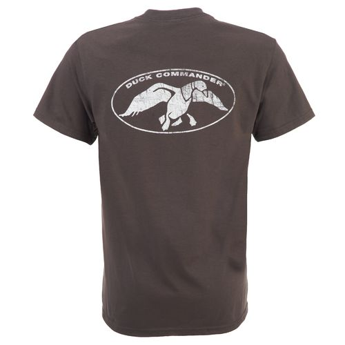 Duck Commander Men's Double Logo Graphic T-shirt