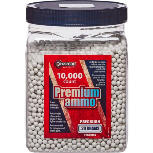 Display product reviews for Crosman Airsoft .20-Gram Premium Ammo BBs