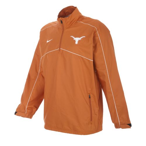 Nike Men's University of Texas Woven Coaches 1/4 Zip Jacket