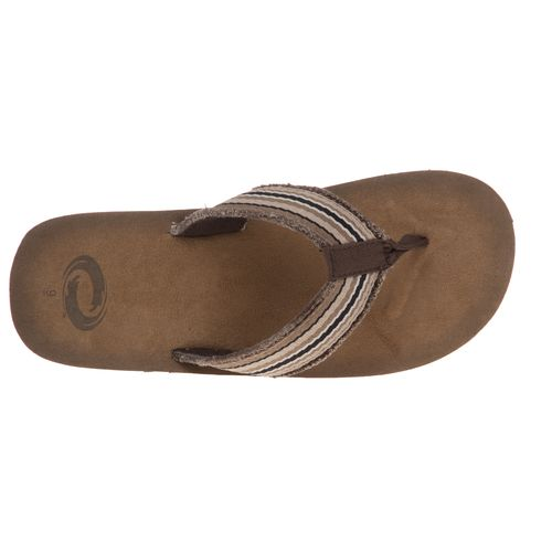 O'Rageous Men's Beach Thong Sandals - view number 4