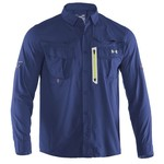 Under Armour® Men's coldblack® Abyss Fishing Guide Long Sleeve Shirt