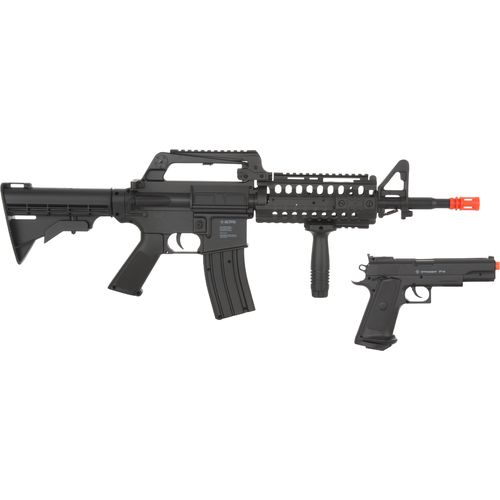 Display product reviews for Crosman Elite Front Line Force Airsoft Rifle and Pistol Combo Kit