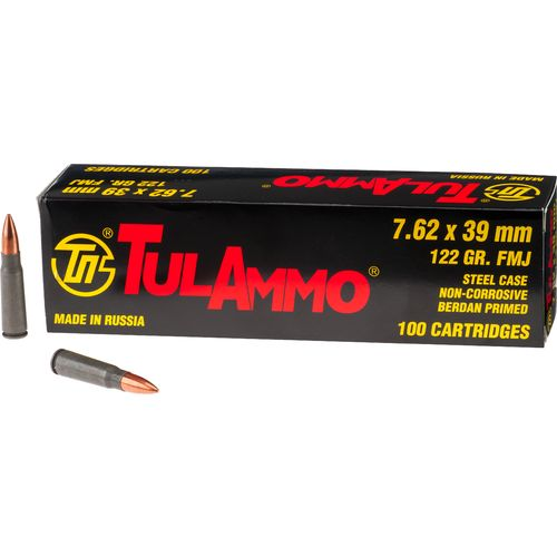 TulAmmo 7.62mm x 39mm Centerfire Rifle Ammunition
