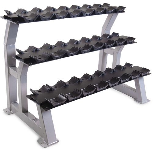 "CAP Barbell 44"" 3-Tier Beauty Bell Dumbbell Rack"