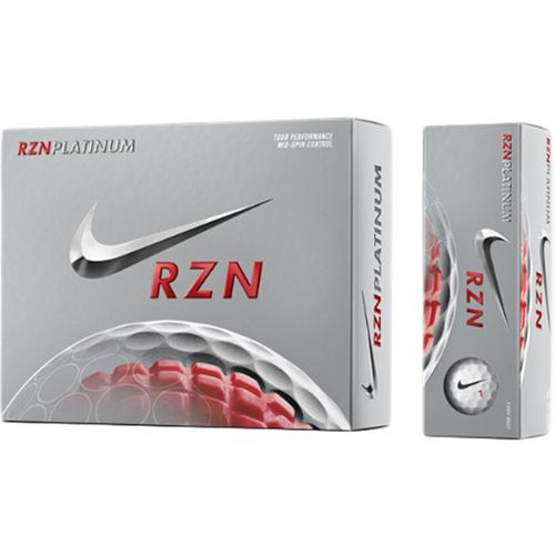 Nike RZN Platinum Golf Balls 12-Pack