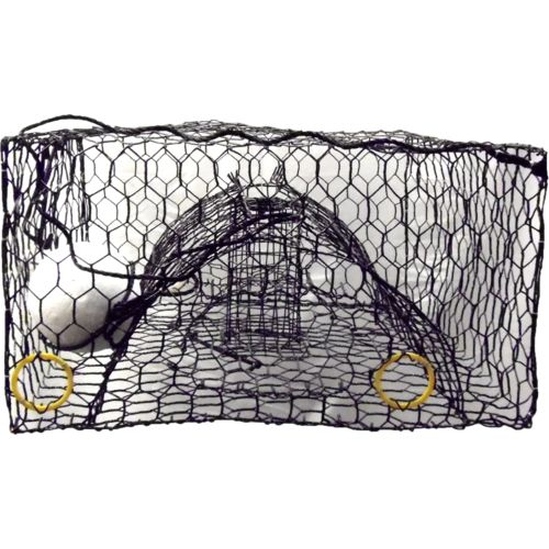 O&H Mfg. 24' x 24' x 15' Deluxe Crab Trap
